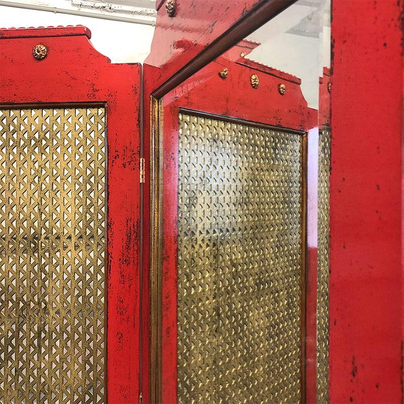Oriental red screen by Josef Körber
